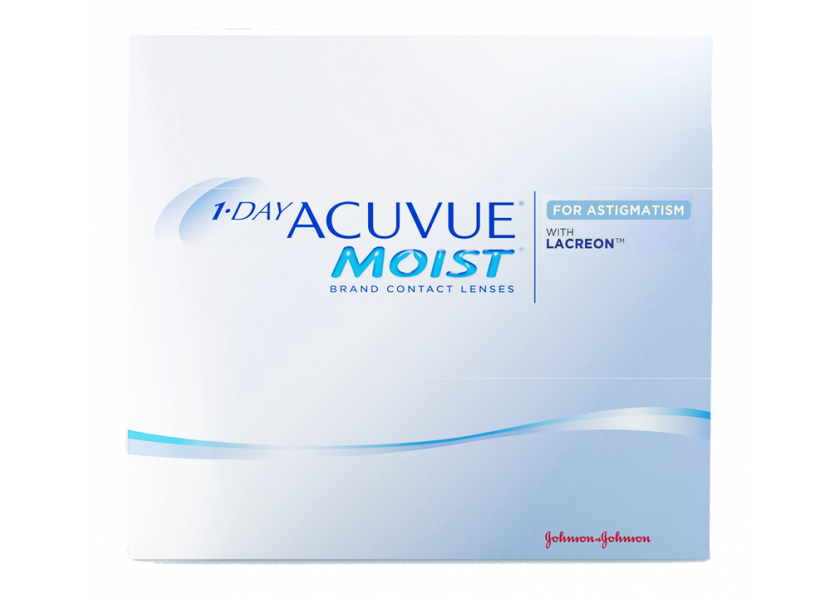 1 Day Acuvue Moist for Astigmatism - 90