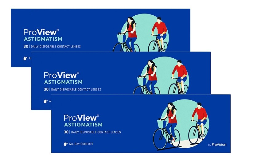 1 Day ProView Astigmatism - 90