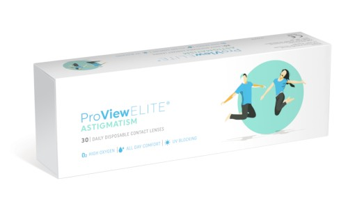 1 Day ProView Elite Astigmatism - 30